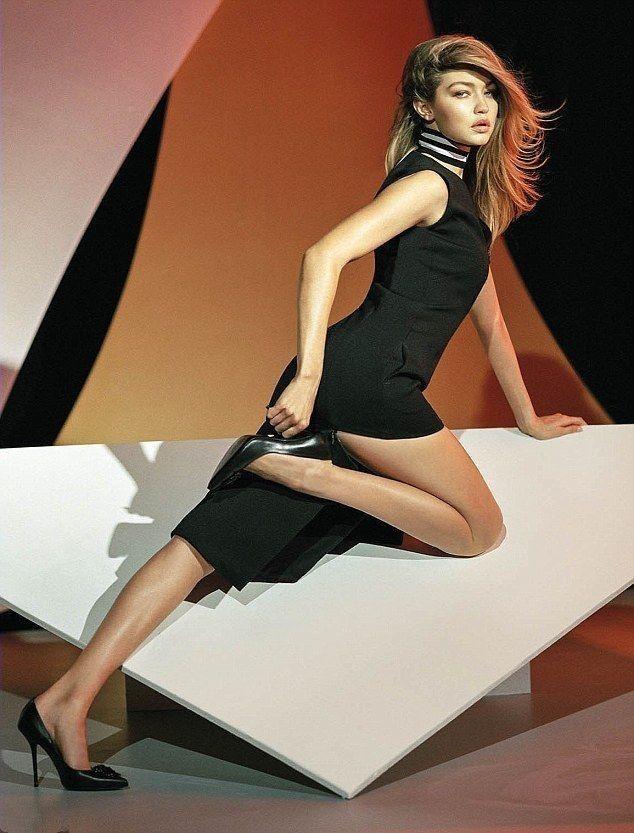 Gigi Hadid and Bella Hadid Pose Naked for British Vogue