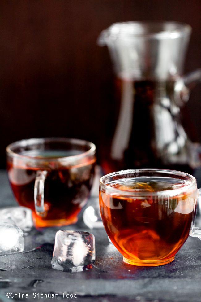Iced Pu Erh Tea Recipe O My Tea Pu Erh Tea Tea Recipes Iced Tea