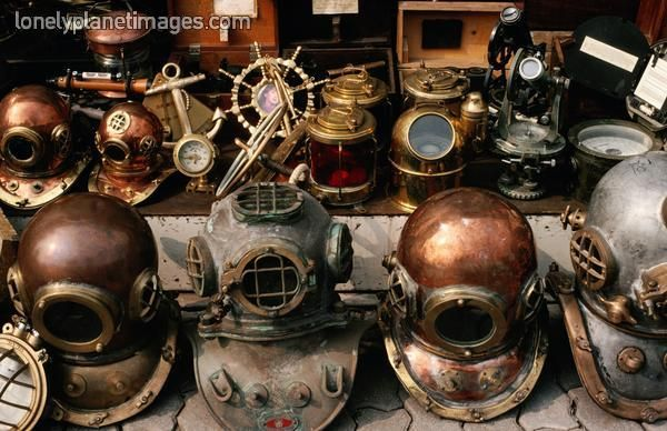 I Want All These Helmets Diver Helmets Photographer Richard I Anson Museum Collection Maritime Museum Image