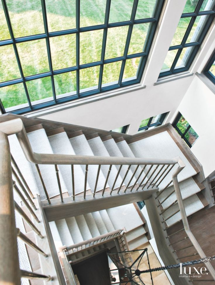 Marvelous Four Story Stair Tower Staircase From Above