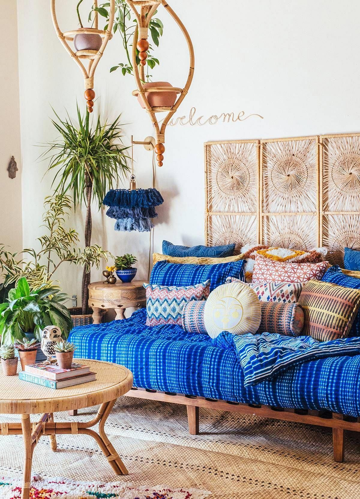 30 best hippie bohemian living room design ideas that