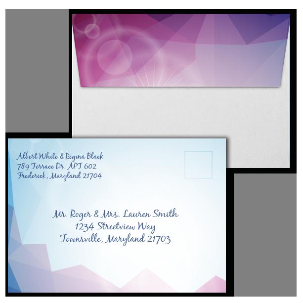 a7 odyssey invitation envelope 5 25 x 7 25 wedding envelopes