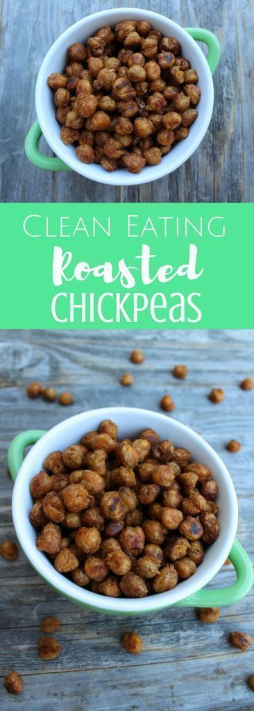 Clean Eating Roasted Chickpeas   - Health & Fitness - #Chickpeas #clean #Eating #Fitness #Health #Ro...