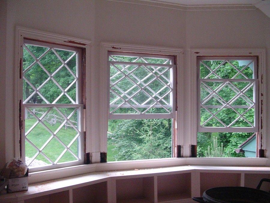 Historic Diamond Pattern Window Restoration Pinterest