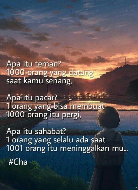 Super quotes indonesia teman Ideas