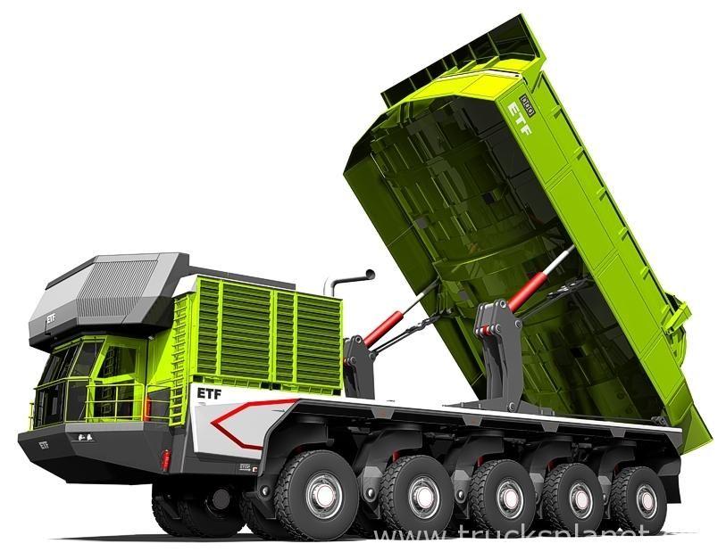 ETF - ETF Mining Truck (Concept vehicles) - history, photos, PDF ...