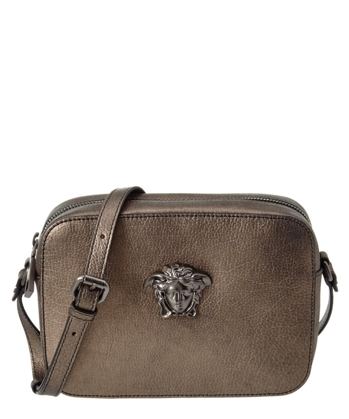 f33a905be710 VERSACE Versace Palazzo Medusa Small Leather Shoulder Bag .  versace  bags  shoulder  bags  leather  lining