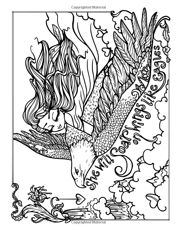 Amazon Com I Dream In Color An Inspirational Journey Coloring Book 9780692830772 Hannah Lynn Books Cute Coloring Pages Coloring Books Fairy Coloring