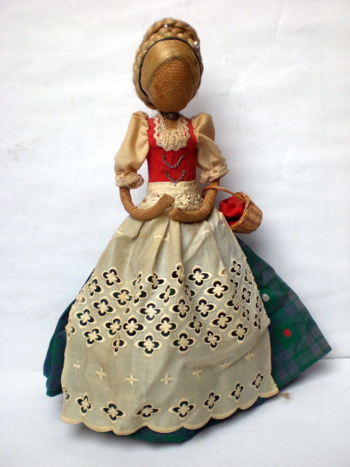 Südtiroler Rupfenpuppe, hochwertig, älter, 33 cm in Antiquitäten & Kunst, Antikspielzeug, Puppen & Zubehör | eBay!