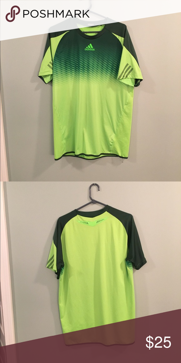 Adidas Adizero Dri-Fit Tennis shirt Looks brand new. Worn a few times.  Adidas Shirts Tees - Short Sleeve a7a1b89f19e9