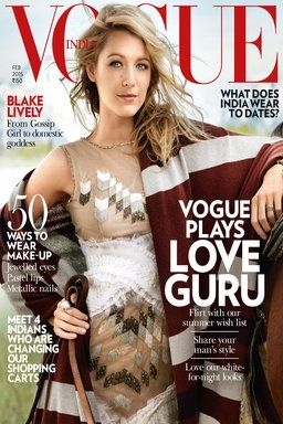 Vogue latest emagazine edition 2015 featuring Blake Lively now available on Rockstand.
