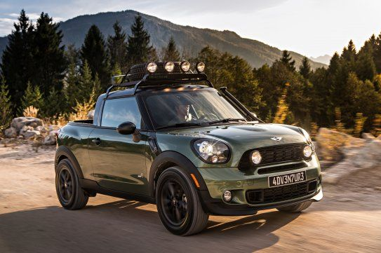Mini E Blog A Converted Into One Off Pick Up Paceman Adventure Creative Projects Compeions Events Thoughts And Ideas By