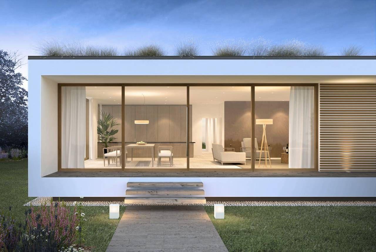 Casa in legno glam maison nel 2019 case prefabbricate for Architettura moderna case
