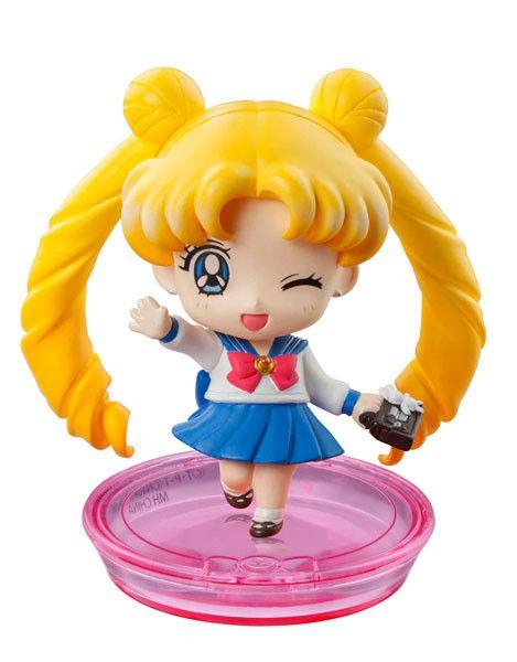 Sailor Moon Petit Chara Pretty Soldier School Life ( Bunny Tsukino ) Variante B  Sailor Moon - Hadesflamme - Merchandise - Onlineshop für alles was das (Fan) Herz begehrt!