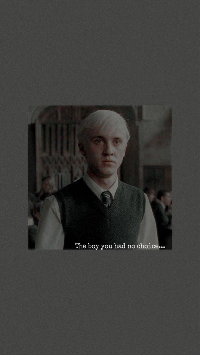Draco Malfoy Aesthetic Wallpaper Em 2020 Harry Potter Filme Harry Potter Draco