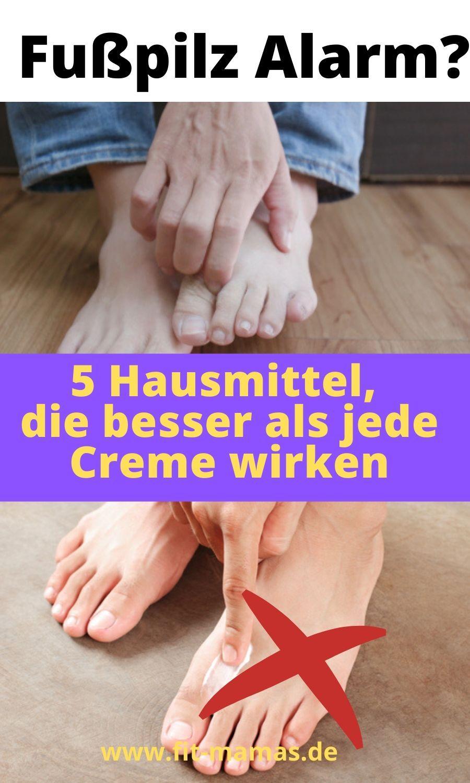 5 Hausmittel gegen Fußpilz | Fußpilz hausmittel, Fußpilz