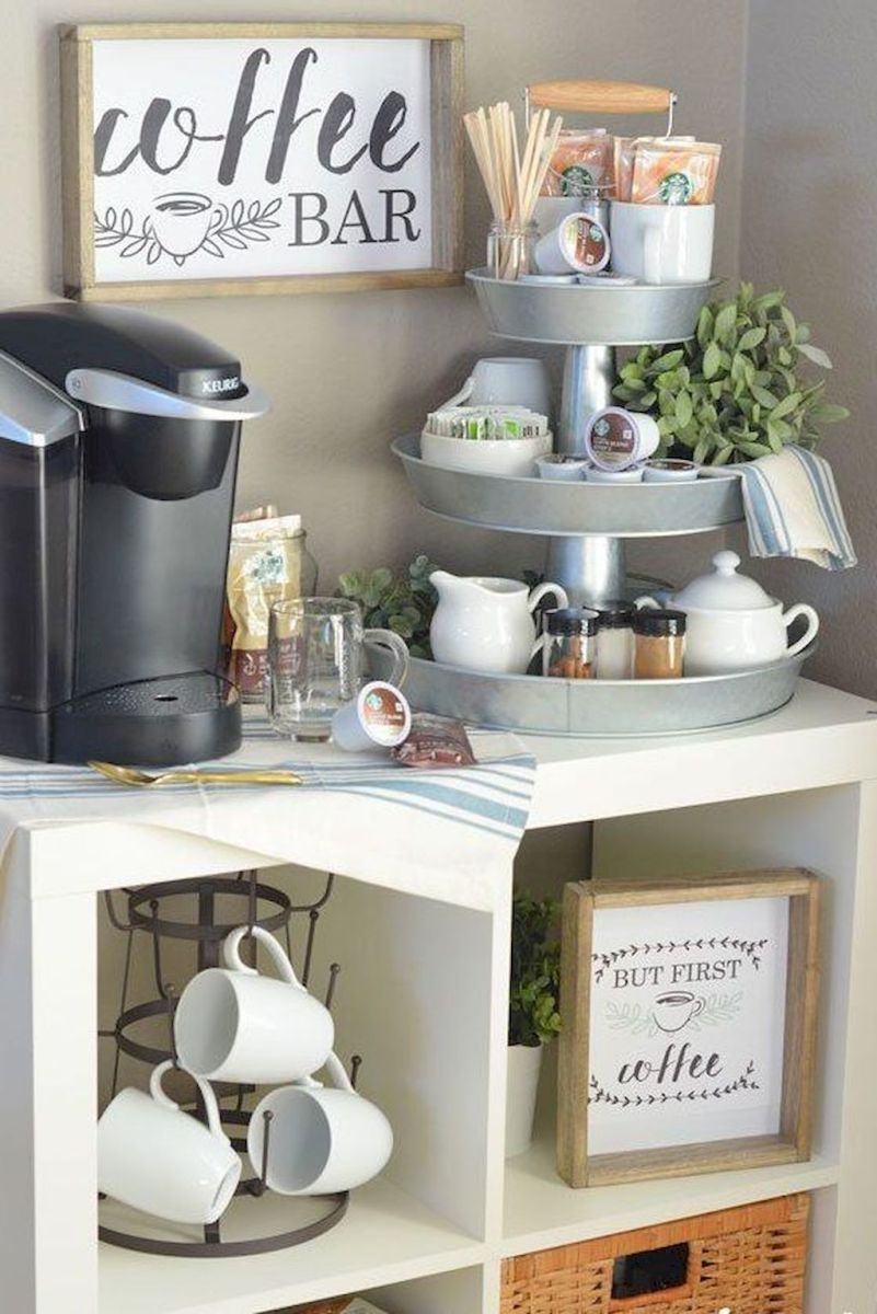 Rental Apartment Kitchen Organization Ideas (37) | Coffee Bar ... on organizing office, organizing garage, organizing bedroom, organizing restaurant kitchen,
