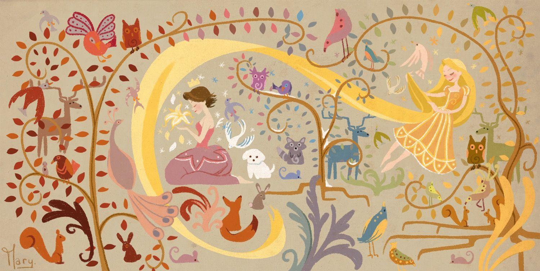 Rapunzel S Art Sooooo Pretty Disney Art Disney Princess Art Disney Tangled