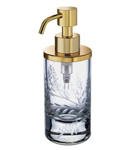Zodiac-bedroom-bathroom-decorative-accessory-soap-dispenser-brass-
