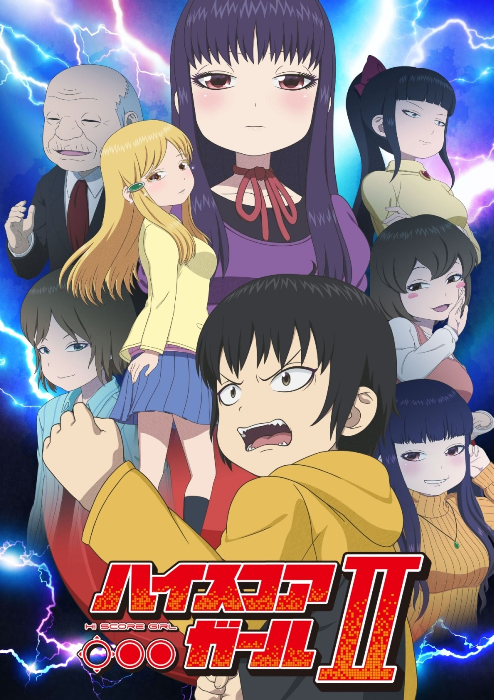 Added sub to high score girl ii 01 girls season anime