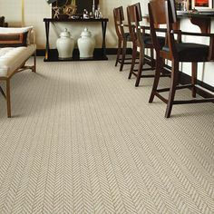 Herringbone Wall To Wall Carpet Google Search Living Room