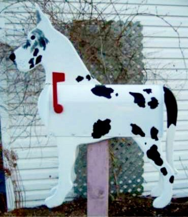 Great Dane Mailbox Great Gift Idea This Mailbox Was Made By The