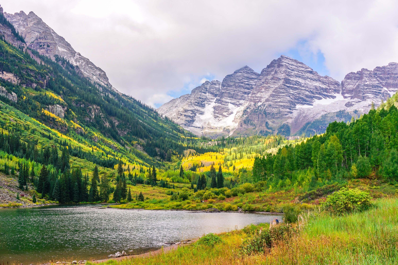 Hiking Maroon Bells In Aspen Colorado Beautiful Travel