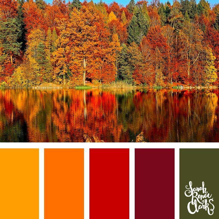 25 Farbpaletten Inspiriert von den Pantone-Farbtrends Herbst / Winter 2018 #autumncolorpalette
