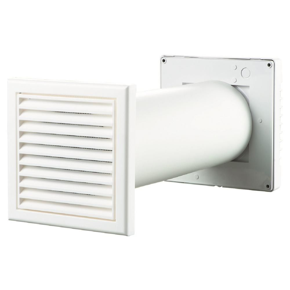 Vents Ma Series 6 In Duct 158 Cfm Wall Through Garage Ventilation Kit Vents Gk 150 Ma The Home Depot In 2020 Garage Ventilation Garage Ventilation Fan Ventilation Fan