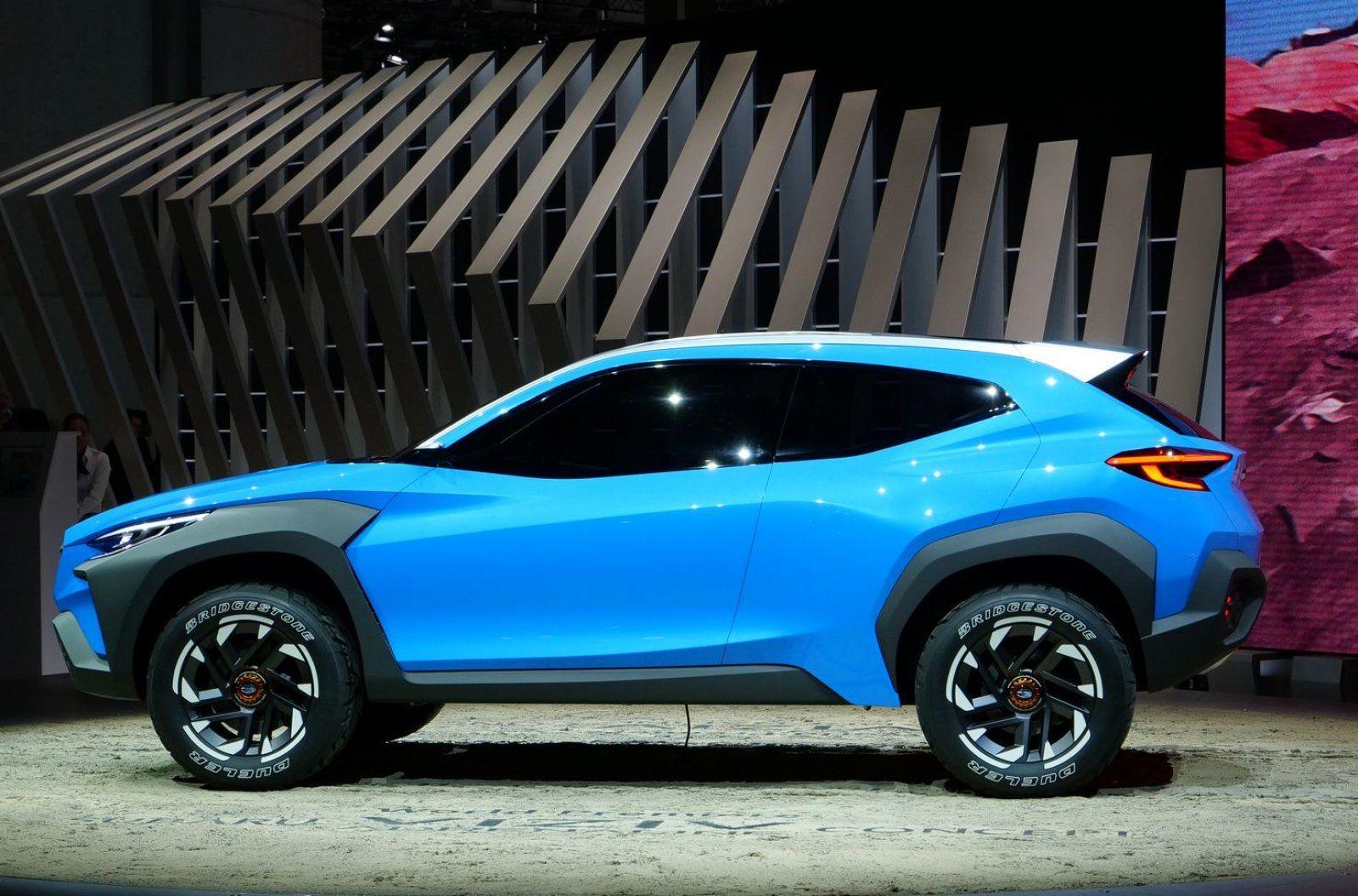 Subaru Unveils Its Outdoorsy Viziv Adrenaline Hybrid Concept Subaru Subaru Crosstrek Hybrid Crossover