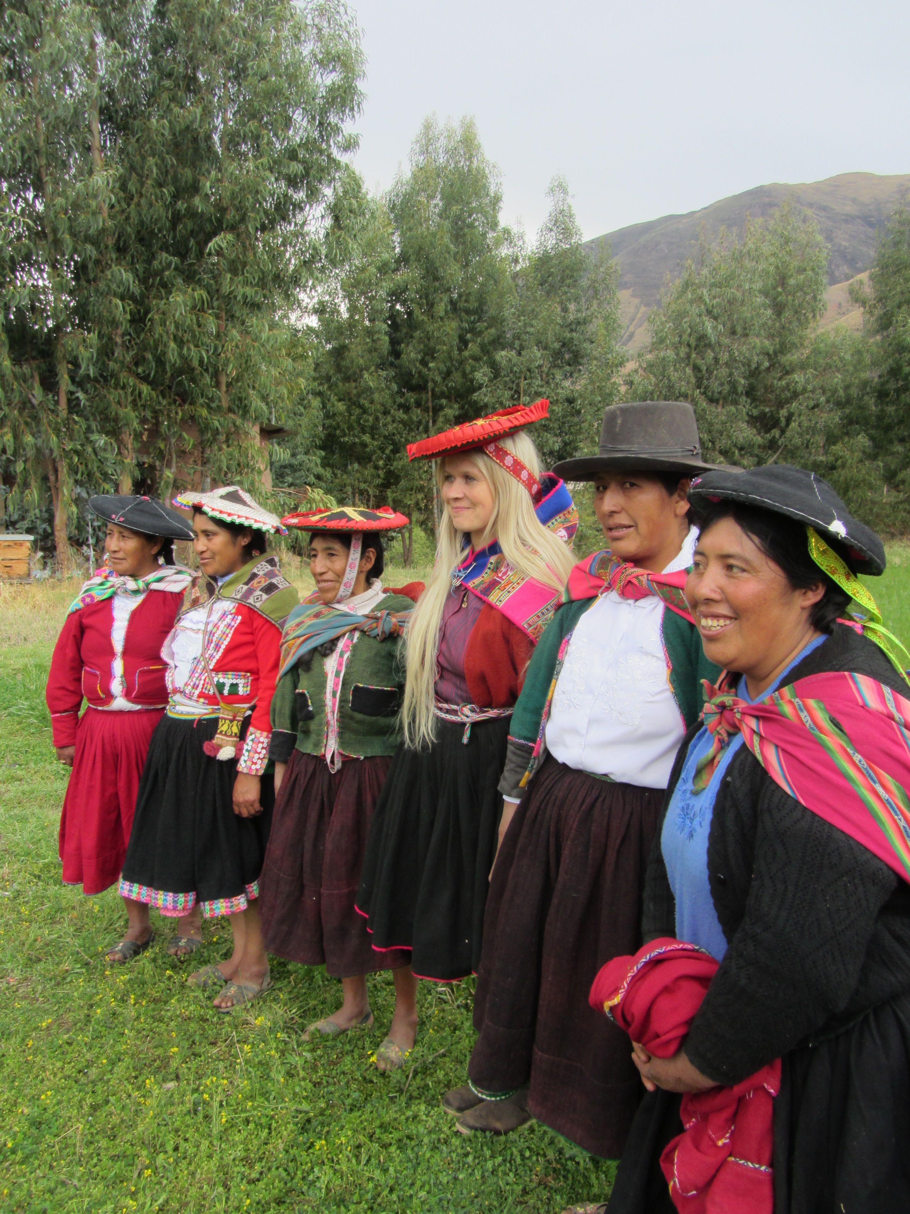 Paola Perussa. / Paola in Peru.