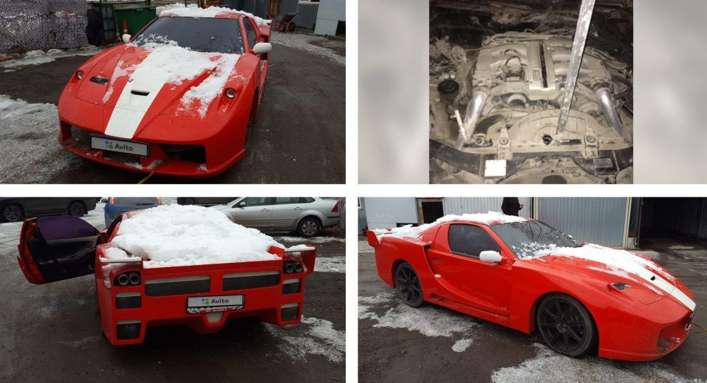 Heres A Nissan 300ZX Living Out Its Fantasy Of Being A Ferrari FXX