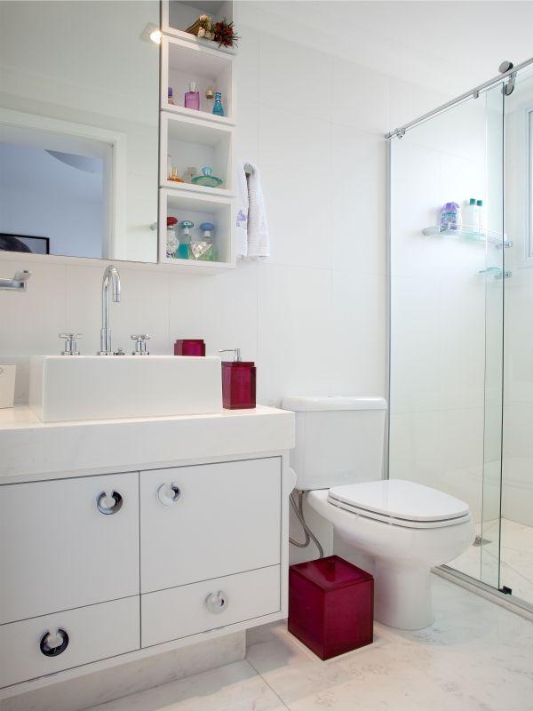 Nicho Para Banheiro Curitiba : Pequenos nichos ao lado do espelho banheiro