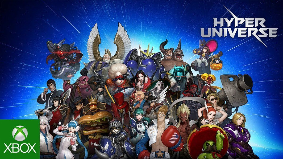 Hyper Universe Playhyper Twitter With Images Xbox One