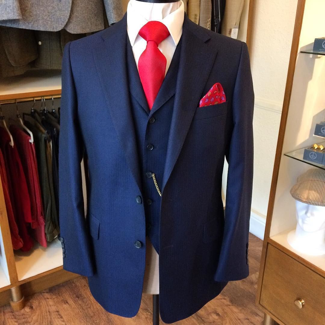 Hot off the press this afternoon is this blue fine herringbone 3-piece suit ready for final try on at the weekend. Cloth from @dugdalebrosandco  #andrewjmusson #bespoke #tailor #bespoketailoring #lincoln #lincolnshire #savilerow #london #dapper #dandy #handmade #menswear #madeinengland #mensfashion #fashion #fashionformen #mensstyle #style #styleformen #dapperman #dapperstyle #luxury #gq #wool #suit #weddingsuit #tailormade #craftsmanship #thelincolnshiretailor