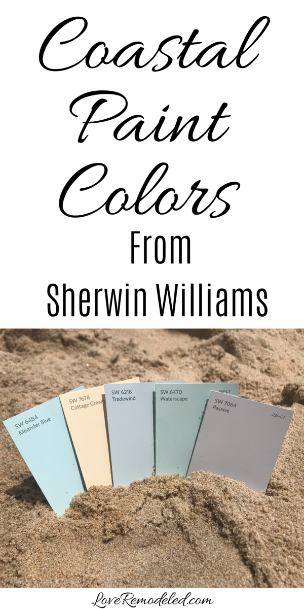 Photo of Top Coastal Paint Colors from Sherwin Williams