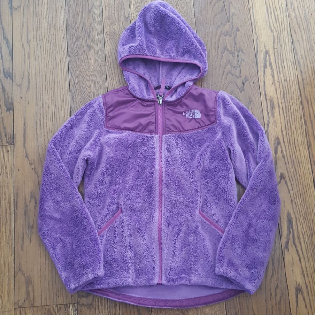 I Think This Is The Oso Style Super Soft And Fuzzy Hoodie Zip Up Jacket Labelled Size M 10 12 Yrs Good Pre North Face Jacket Fuzzy Fuzzy Hoodie Girls Jacket [ 1024 x 1024 Pixel ]