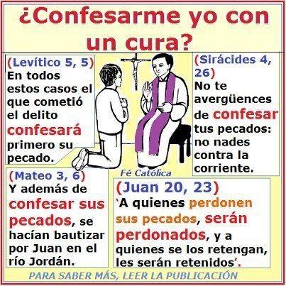Confesarme yo con un cura?