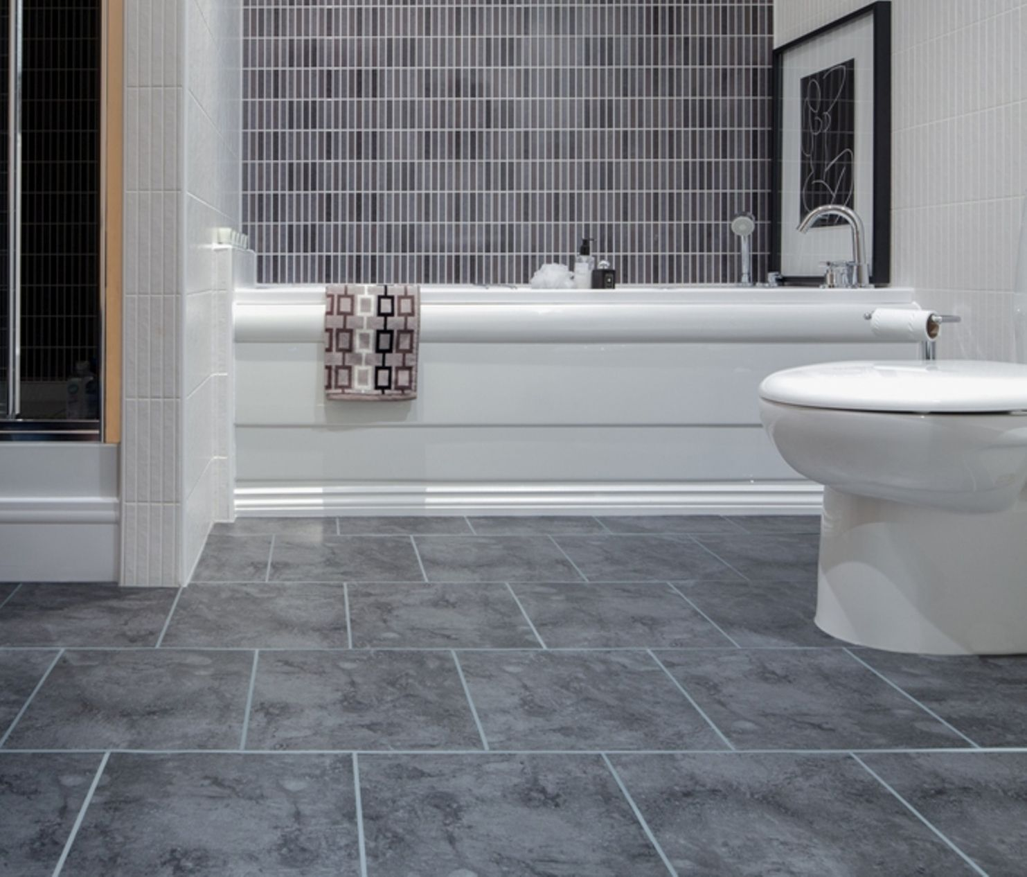 Best Way To Tile Small Bathroom Floor Best Bathroom Flooring