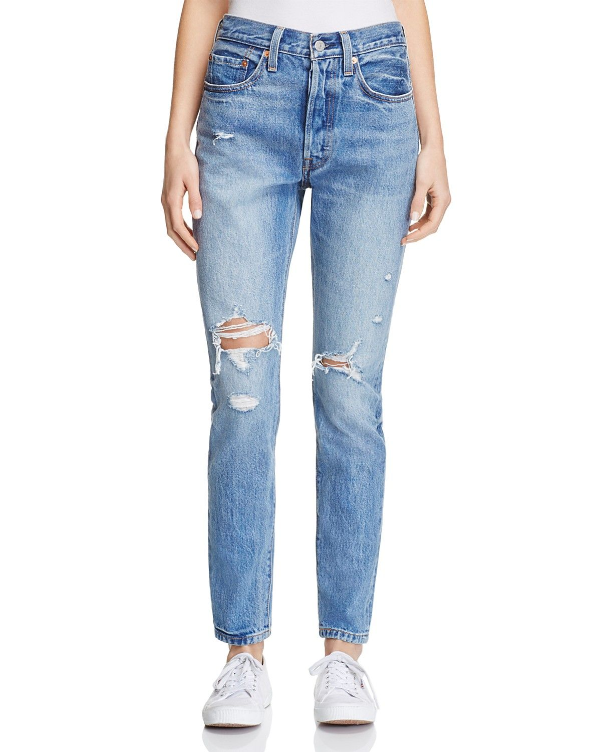 66bce97d Levi's 501® Skinny Jeans in Old Hangouts   Love The Look... Denim ...