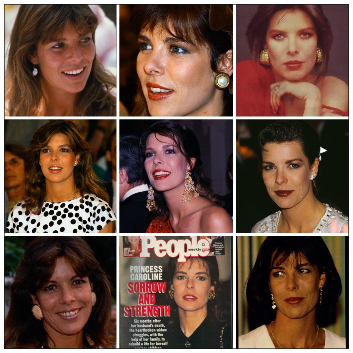 R4R Photo Spotlight: Princess Caroline's Life Year-by-Year 1984-1992  With each passing year she gets even more gorgeous!