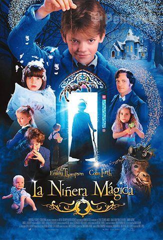 Ver Nanny Mcphee La Nana Mágica 2005 Online Latino Hd Pelisplus La Niñera Mágica Películas Completas Peliculas