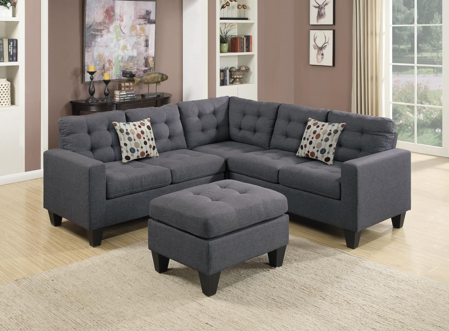 Grey Sectional Couch Wayfair In 2020 With Images Sectional