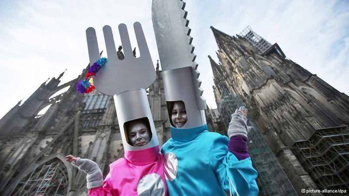 Deutschland Karneval 2014 Weiberfastnacht Köln-Carnaval de Colonia (Alemania)
