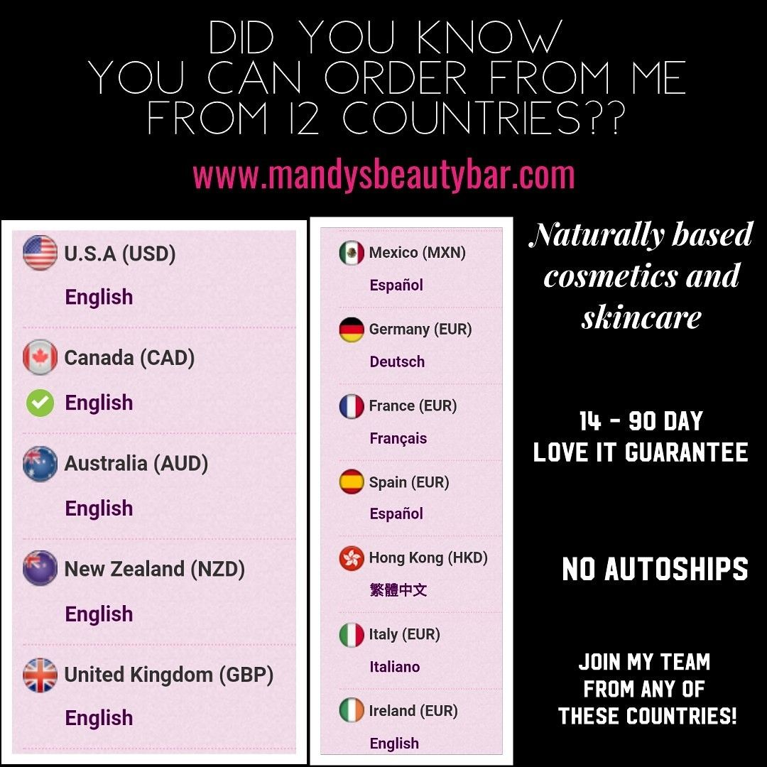 Order Younique From 12 Countries Or Join Me Younique Beauty