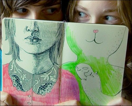 Sketch book idea!#Repin By:Pinterest++ for iPad#