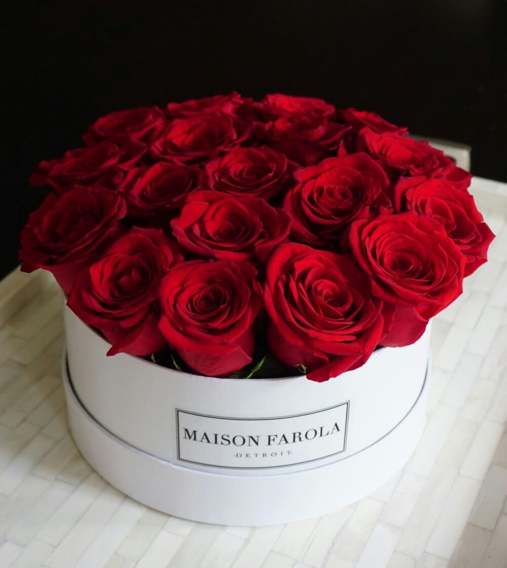 Red Roses Red Rose Arrangements Red Rose Bouquet Flower Box Gift