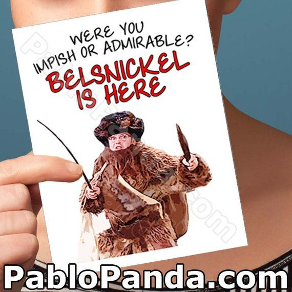 Belsnickel Christmas Card - Dwight Schrute Christmas Cards Boxed Set