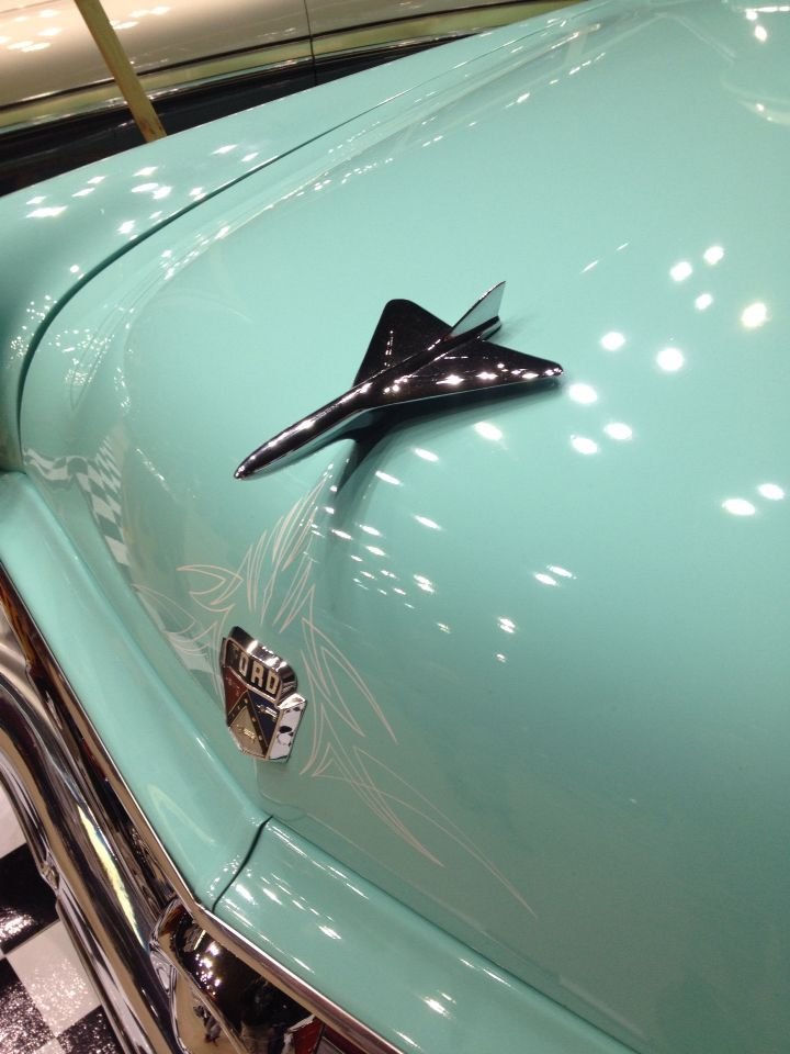 Aircraft hood ornament..Re-pin...Brought to you by #CarInsurance at #HouseofInsurance in Eugene, Oregon