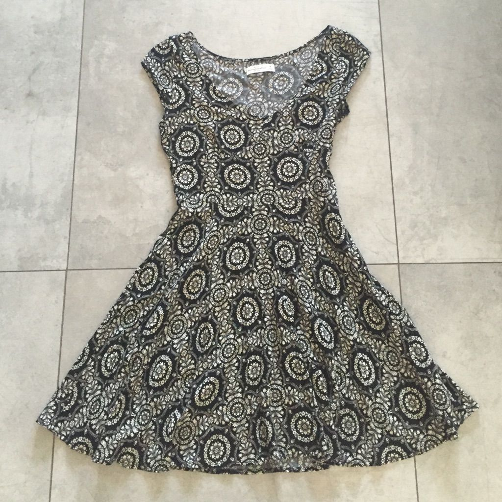 Abercrombie & Fitch Patterned A-Line Dress